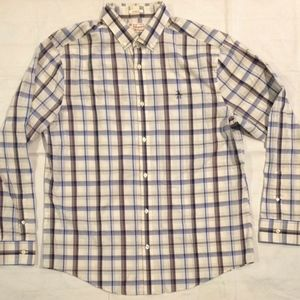 PENGUIN PLAID LONG SLEEVE SHIRT CLASSIC FIT XL